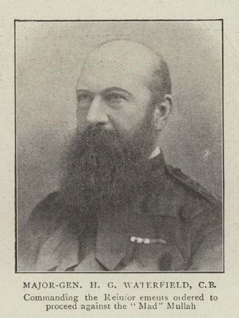 Major-General H G Waterfield