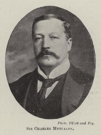 Sir Charles Metcalfe