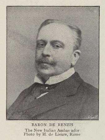 Baron De Renzis