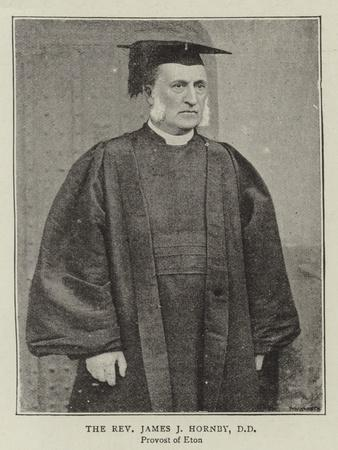 The Reverend James J Hornby
