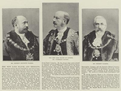 The New Lord Mayor and Sheriffs
