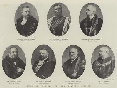 Municipal Honours of the Diamond Jubilee