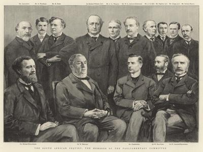 The South African Inquiry, the Members of the Parliamentary Committee