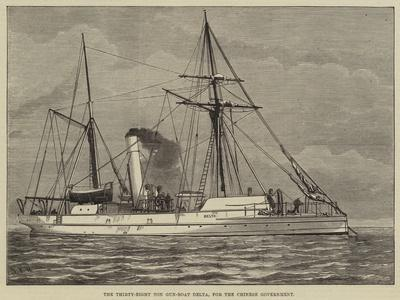 The Thirty-Eight Ton Gun-Boat Delta, for the Chinese Government