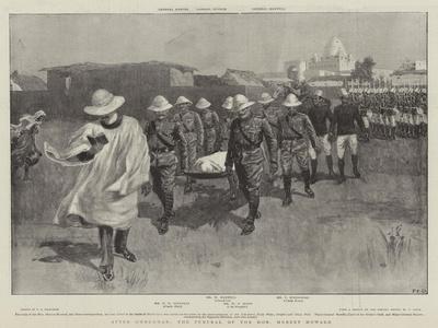 After Omdurman, the Funeral of the Honourable Hubert Howard