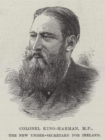 Colonel King-Harman, Mp, the New Under-Secretary for Ireland