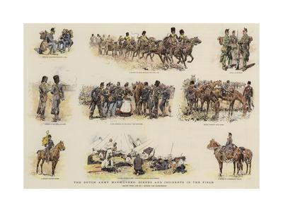 The Dutch Army Manoeuvres, Scenes and Incidents in the Field