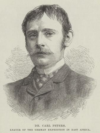 Dr Carl Peters, Leader of the German Expedition in East Africa