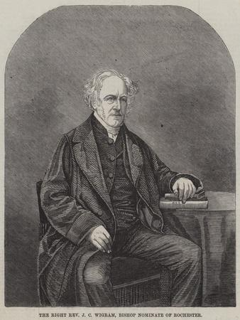 The Right Reverend J C Wigram, Bishop Nominate of Rochester