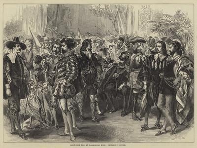 Fancy-Dress Ball at Marlborough House, Gentlemen's Costumes