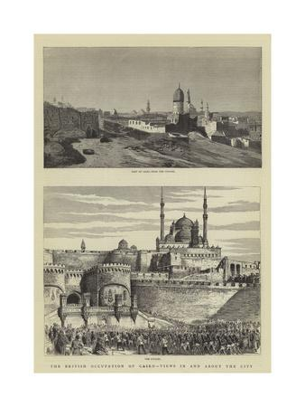 The British Occupation of Cairo, Views in and About the City