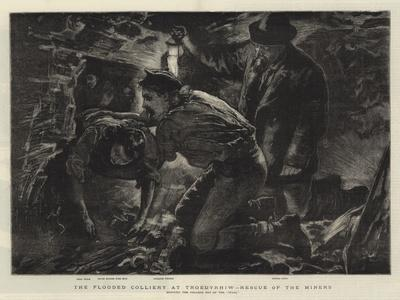 The Flooded Colliery at Troedyrhiw, Rescue of the Miners