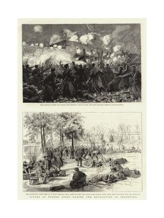 Scenes at Buenos Ayres During the Revolution in Argentina
