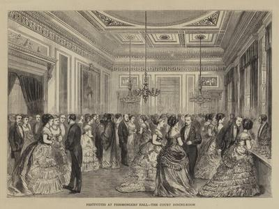 Festivities at Fishmongers' Hall, the Court Dining-Room