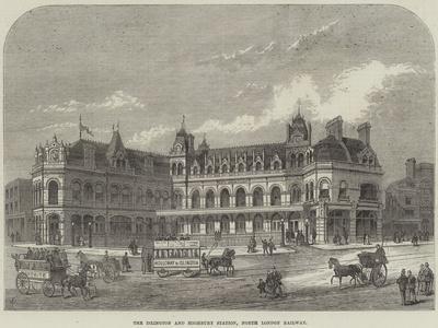The Islington and Highbury Station, North London Railway