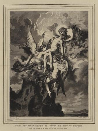 Death and Sleep Bearing to Jupiter the Body of Sarpedon