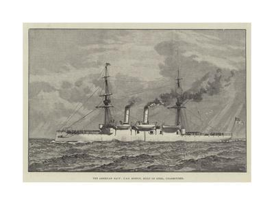 The American Navy, USS Boston, Built of Steel, Unarmoured