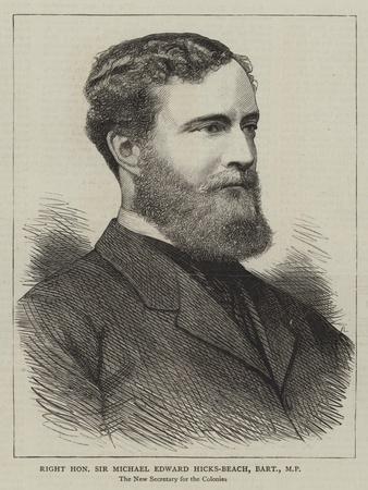 Right Honourable Sir Michael Edward Hicks-Beach, Baronet