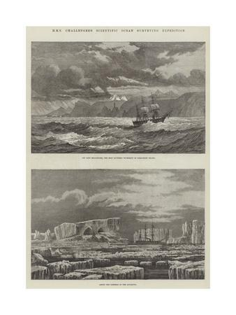 HMS Challenger's Scientific Ocean Surveying Expedition