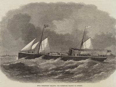 Hull Steam-Ship Orlando, for Passenger Traffic to Sweden
