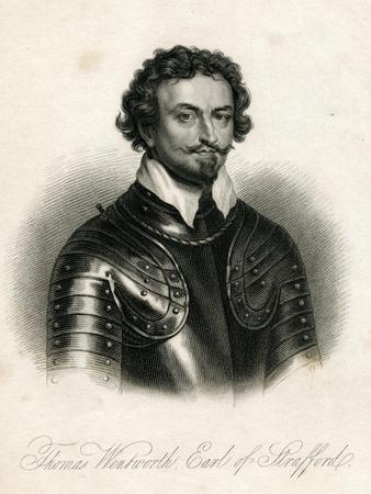 Sir Thomas Wentworth, 1st Earl of Strafford (1593-1641)