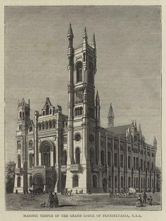 Masonic Temple of the Grand Lodge of Pennsylvania, Usa