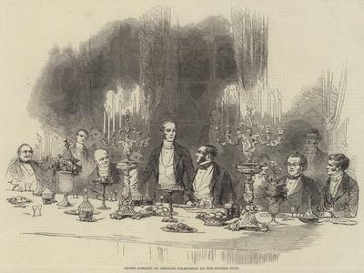 Grand Banquet to Viscount Palmerston by the Reform Club