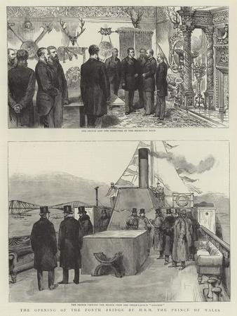 The Opening of the Forth Bridge by Hrh the Prince of Wales