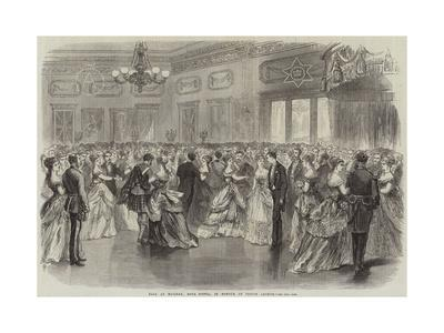 Ball at Halifax, Nova Scotia, in Honour of Prince Arthur