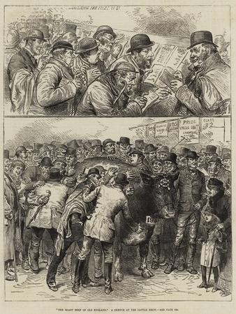 The Roast Beef of Old England, a Sketch at the Cattle Show
