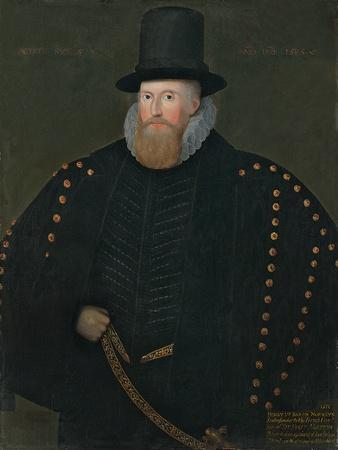Portrait of Henry, 1st Baron Norris, of Rycote, 1585