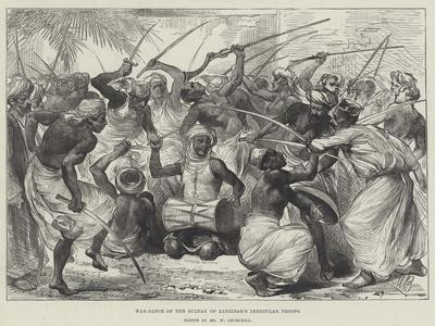 War-Dance of the Sultan of Zanzibar's Irregular Troops