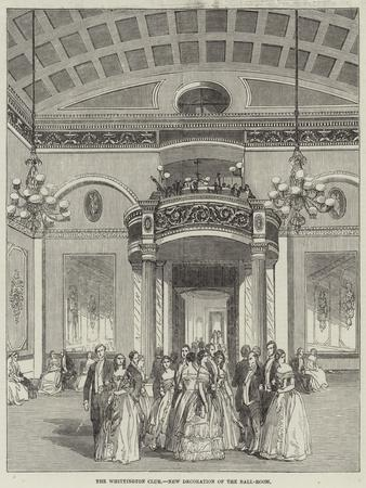 The Whittington Club, New Decoration of the Ball-Room