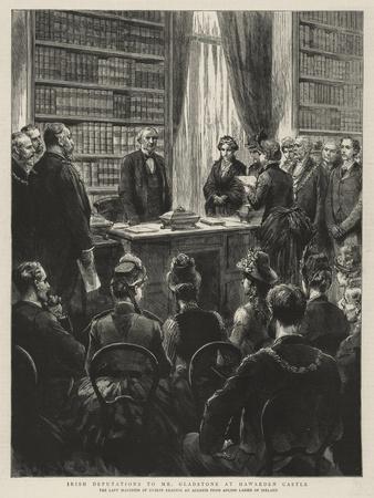 Irish Deputations to Mr Gladstone at Hawarden Castle