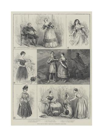 Jenny Lind in Some of Her Most Celebrated Characters