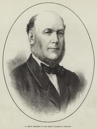 M Grevy, President of the French Chamber of Deputies