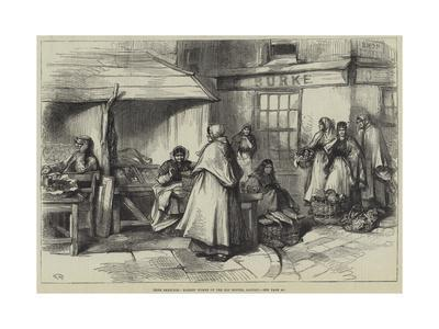 Irish Sketches, Market Women of the Old Booths, Galway