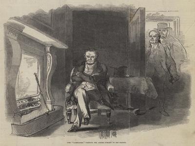 The Liberator Visiting Mr Smith O'Brien in His Prison