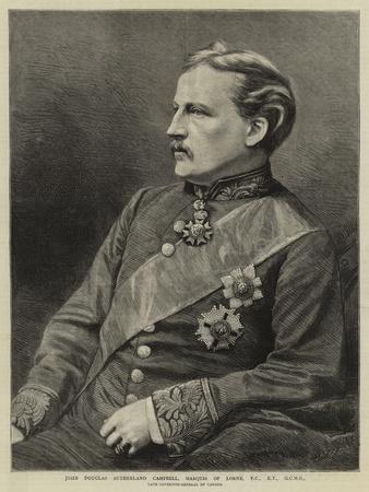 John Douglas Sutherland Campbell, Marquis of Lorne