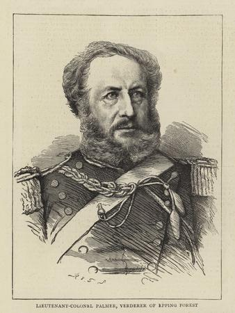 Lieutenant-Colonel Palmer, Verderer of Epping Forest