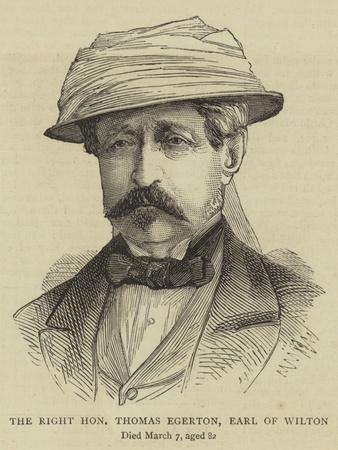 The Right Honourable Thomas Egerton, Earl of Wilton