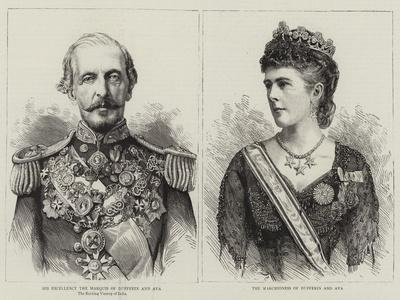 The Marquis and Marchioness of Dufferin and Ava