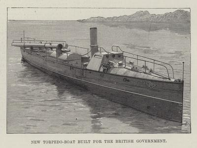New Torpedo-Boat Built for the British Government
