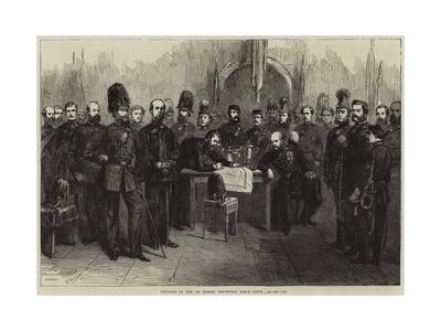 Officers of the 1st Surrey Volunteer Rifle Corps