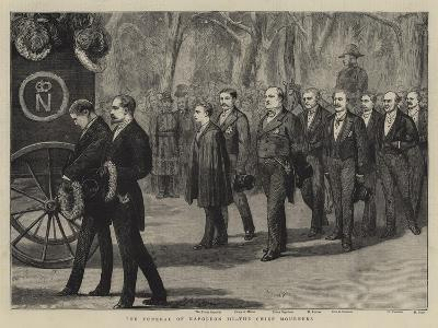 The Funeral of Napoleon Iii, the Chief Mourners