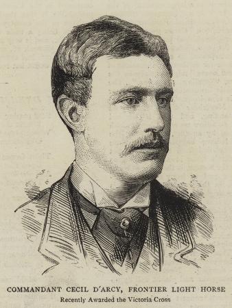 Commandant Cecil D'Arcy, Frontier Light Horse