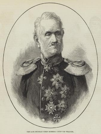 The Late Prussian Field Marshal Count Von Wrangel