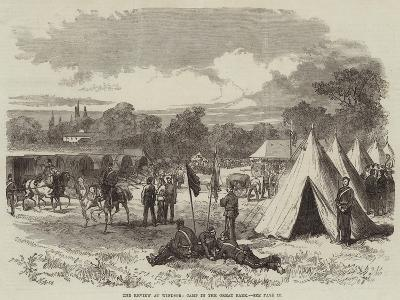 The Review at Windsor, Camp in the Great Park