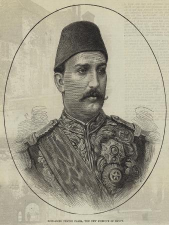 Mohammed Tewfik Pasha, the New Khedive of Egypt