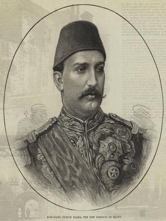 Mohammed Tewfik Pasha, the New Khedive of Egypt